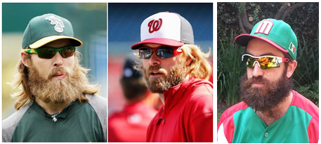 Baseball best beards
